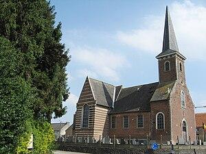 Bekkevoort - Image: Molenbeek Wersbeek Sint Quirinuskerk