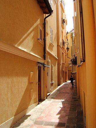 Monaco City - Image: Monaco Ville ruelle