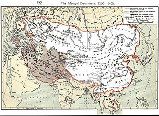 Political divisions and vassals of the Mongol Empire