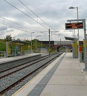 Monsall tram stop