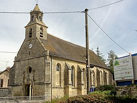 The church in Montagny-en-Vexin