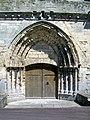 Montataire (60), collégiale Notre-Dame, rue de l'Église, portail ouest.jpg