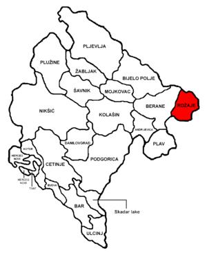 Rožaje Municipality - Image: Montenegro Rožaje