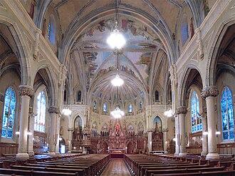 Saint-Viateur d'Outremont Church - The interior.