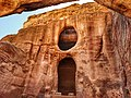 Monumental funerary sculpture in Petra.jpg