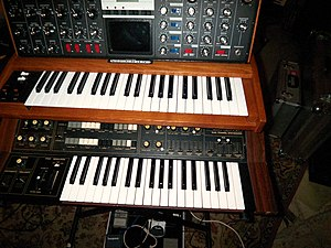 Post-disco - Synthesizers played a crucial part in the development of post-disco.