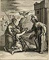 Moralia Horatiana, das ist, Die Horatzische sitten-lehre - aus der ernst-sittigen geselschaft der alten weise-meister gezogen, und mit 113 (i.e. 103) in kupfer gestochenen sinn-bildern, und eben so (14770547713).jpg