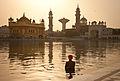 Morning at the Golden Temple, Amritsar.jpg