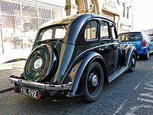 Morris 12 KSL 592 - 1935 (6972922871).jpg