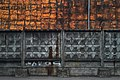 Moscow, fence and wall of ice cream factory (31429331436).jpg