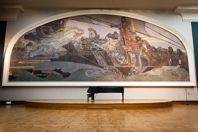 Врубель М. А. Принцесса Грёза. 1896. Третьяковская галерея, Москва.
