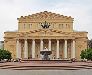 Bolshoi Theatre - Bolshoi Theatre in 2012