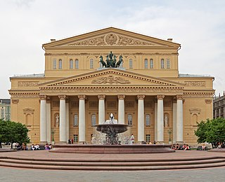 Bolshoi Theatre historic theatre in Moscow, Russia
