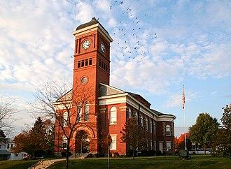 Morrow County, Ohio - Image: Mount gilead ohio courthouse