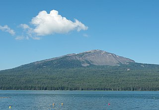 Mount Bailey (Oregon) Relatively young tephra cone and shield volcano in Oregons Cascade Range