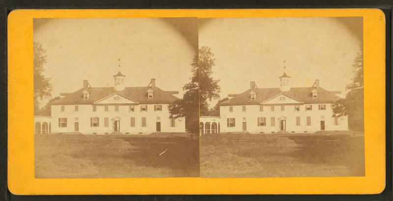 File:Mount Vernon. Front view, view looking court yard, June 15th, 1871, from Robert N. Dennis collection of stereoscopic views.png