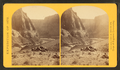Mouth of the Paria, Colorado River; walls 2,100 feet in height, from Robert N. Dennis collection of stereoscopic views.png