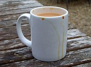 Builder's tea - Builder's tea: a mug of strong tea with milk