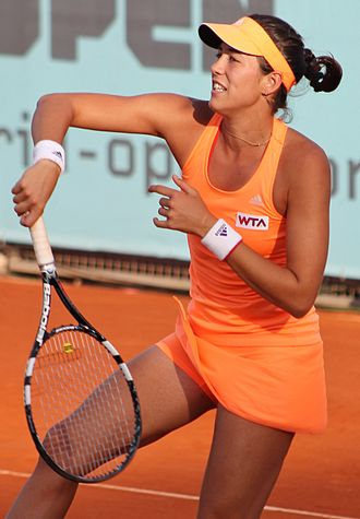 Garbiñe Muguruza - Muguruza and Carla Suárez Navarro reached the final of the Madrid Open, won the Stanford Classic and later qualified for the year-ending WTA Finals.