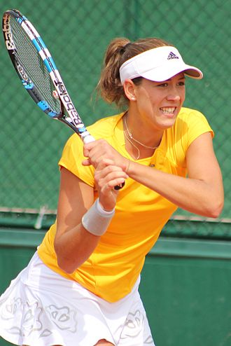 Garbiñe Muguruza - Muguruza reached her second major quarterfinal at the 2015 French Open.