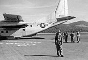 Mule Train Fairchild C-123B-19-FA Provider 56-4382