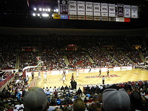 William D. Mullins Memorial Center - Mullins Center Interior