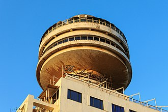 Revolving restaurant - The Ambassador Hotel, a revolving restaurant that provides views of the city of Mumbai, India