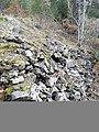 Mura megalitiche sul monte Plaia (Introdacqua).jpg