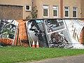 Mural, Kelvingrove Park. 4 - Skateboards - geograph.org.uk - 1516204.jpg
