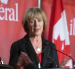 Joyce Murray - Murray during a candidates debate on February 16, 2013 in Mississauga