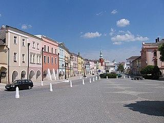 Svitavy Town in Czech Republic