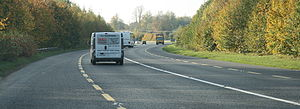 N24 road (Ireland) - Heading west on the N24 Clonmel Relief Road