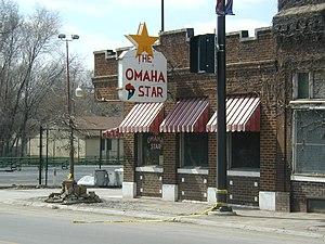 NE Corner view of Omaha Star Building