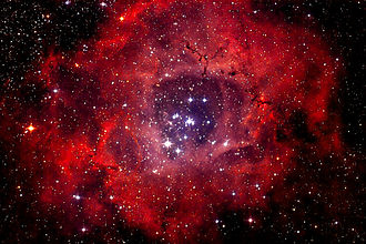 Rosette Nebula - Image: NGC 2244 Rosette Nebula