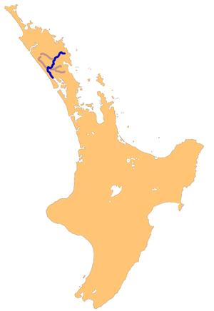 Wairoa River (Northland) - Northland's Wairoa-Wairua River system