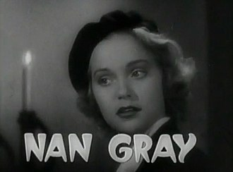 Nan Grey - Grey in Dracula's Daughter (1936)
