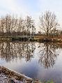 Nationaal Park Weerribben-Wieden. Spiegeling in waterweg 02.jpg