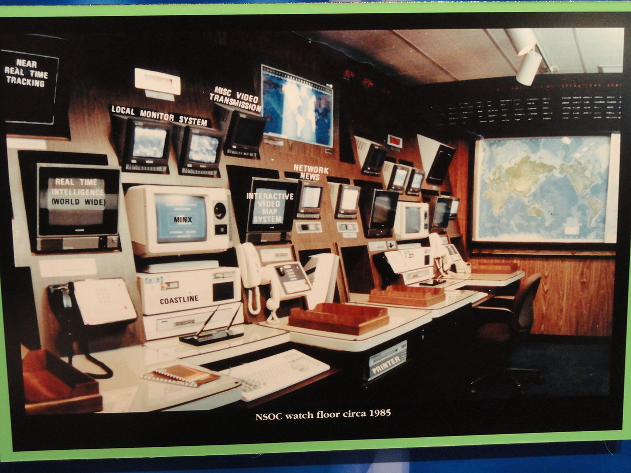file national security operations center photograph  c
