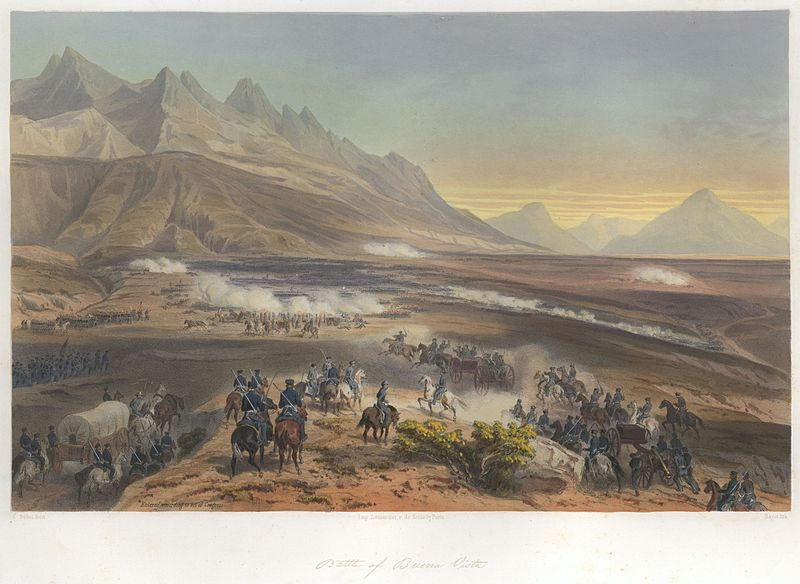 File:Nebel Mexican War 03 Battle of Buena Vista.jpg