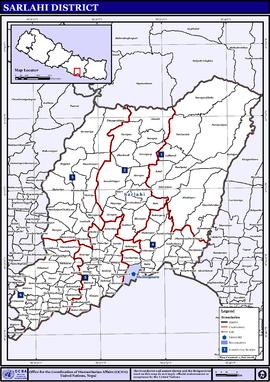 Px Nepalsarlahidistrictmap
