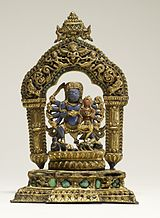 Nepalese - Bhairava with Goddess - Walters 543024 (2)