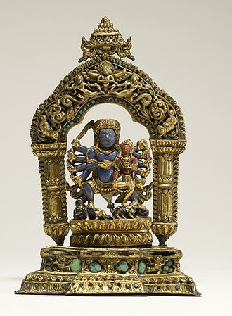 Bhairava - Bhairava with his consort, Bhairavi