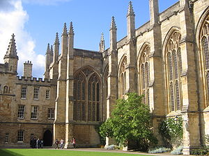New College, Oxford - Image: New College Oxford chapel