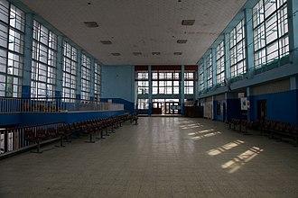 Railway stations in Zambia - New Kapiri Mposhi interior