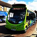 New electric bus on church street 2014 3.JPG