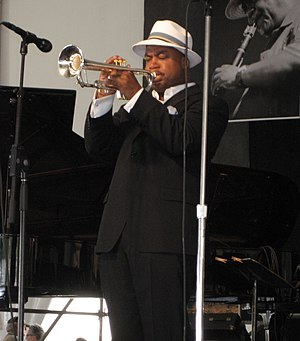 Jazz trumpeter Nicholas Payton, New Orleans Ja...