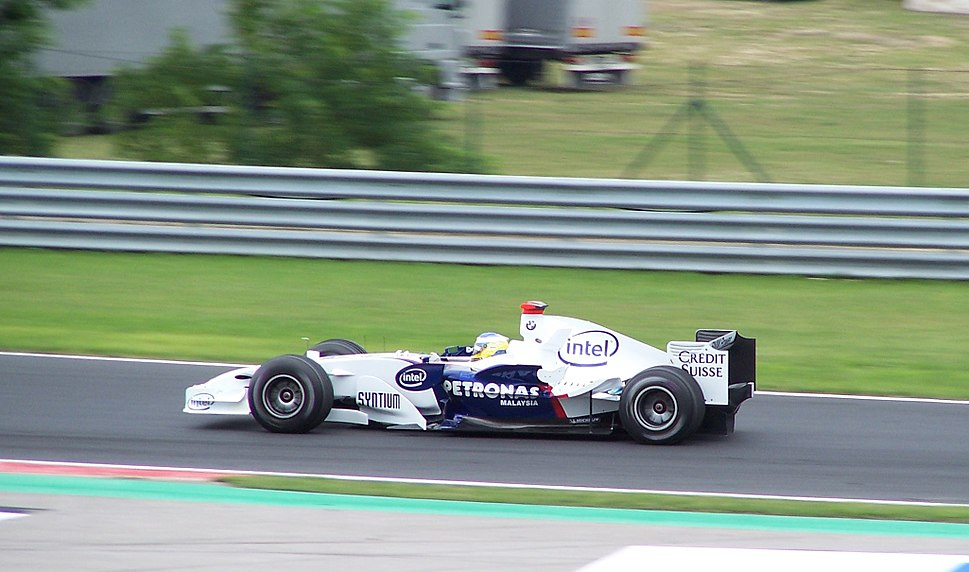 Nick Heidfeld Hungaroring