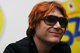 Nicky Wire in Budapest in 2011.jpg