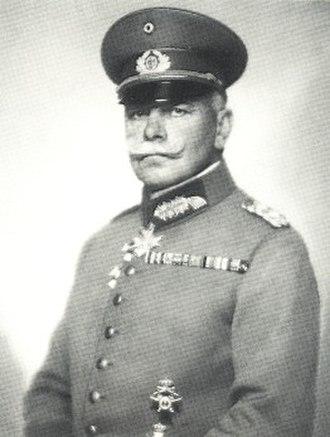 Truppenamt - Image: Nicola Perscheid Wilhelm Heye vor 1930