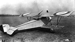 Nieuport 12 - Nieuport 12 A.2 prototype
